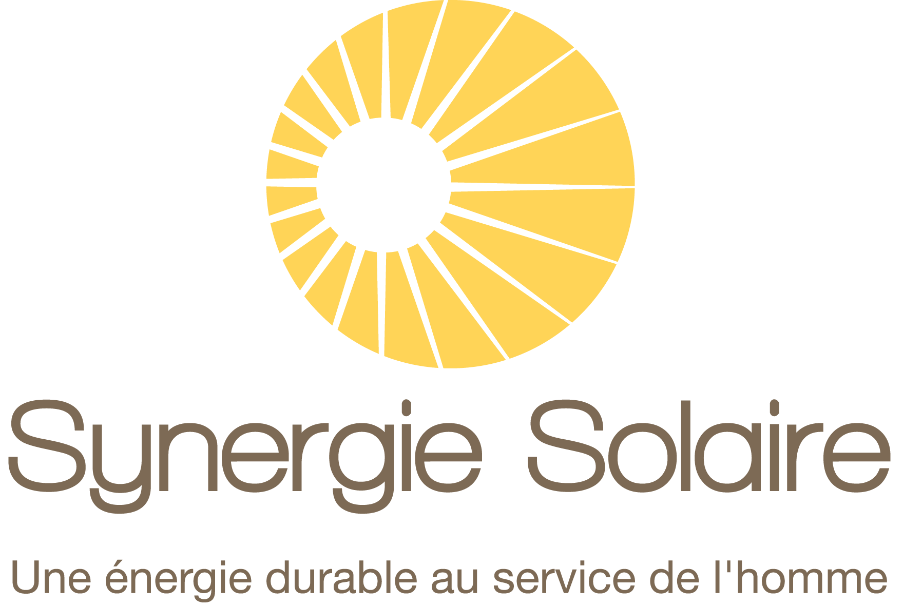 logo synergie solaire blanc