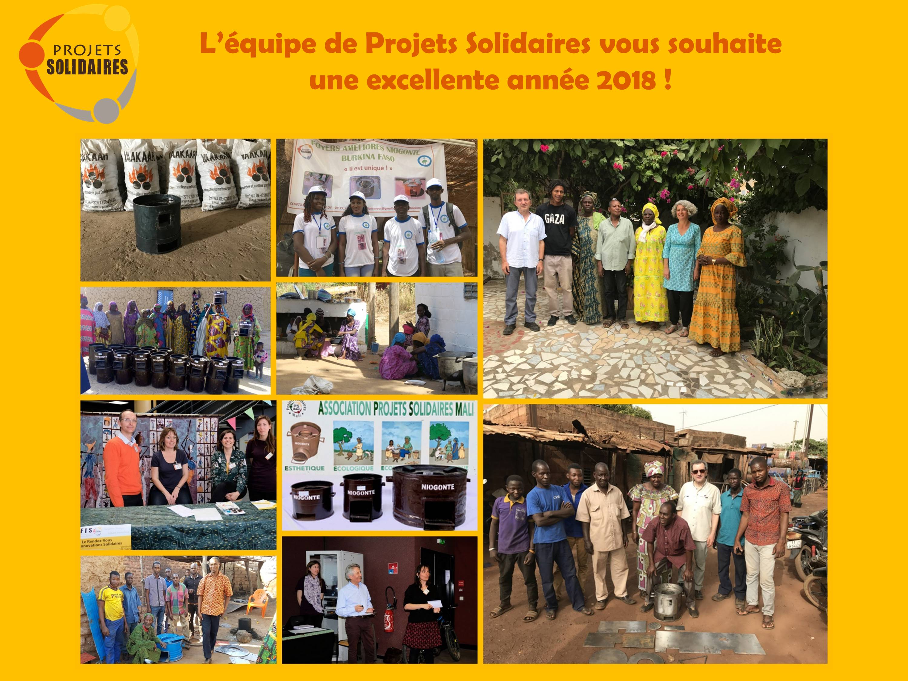 Voeux Projets Solidaires 2018