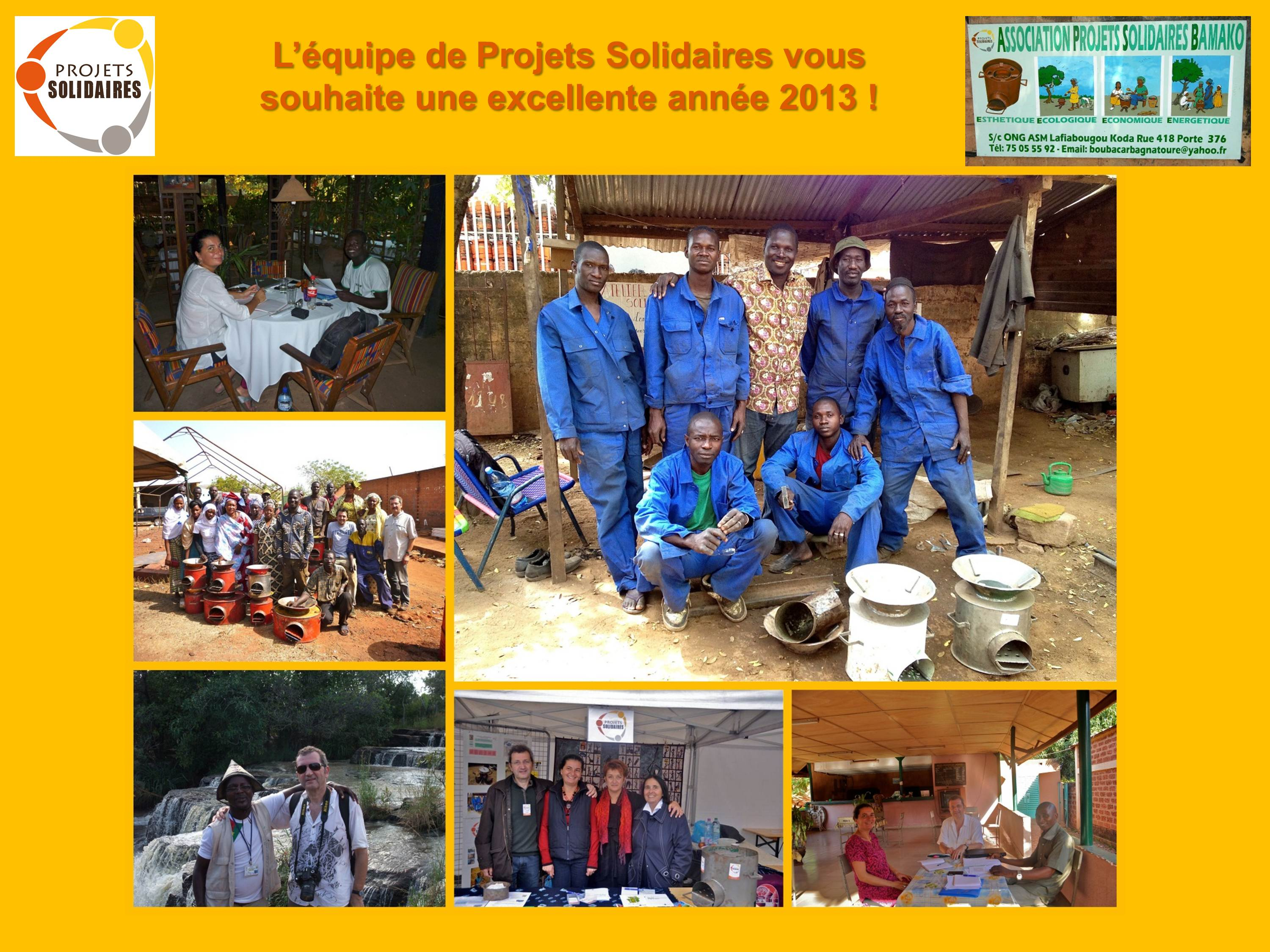 Voeux Projets Solidaires 2013