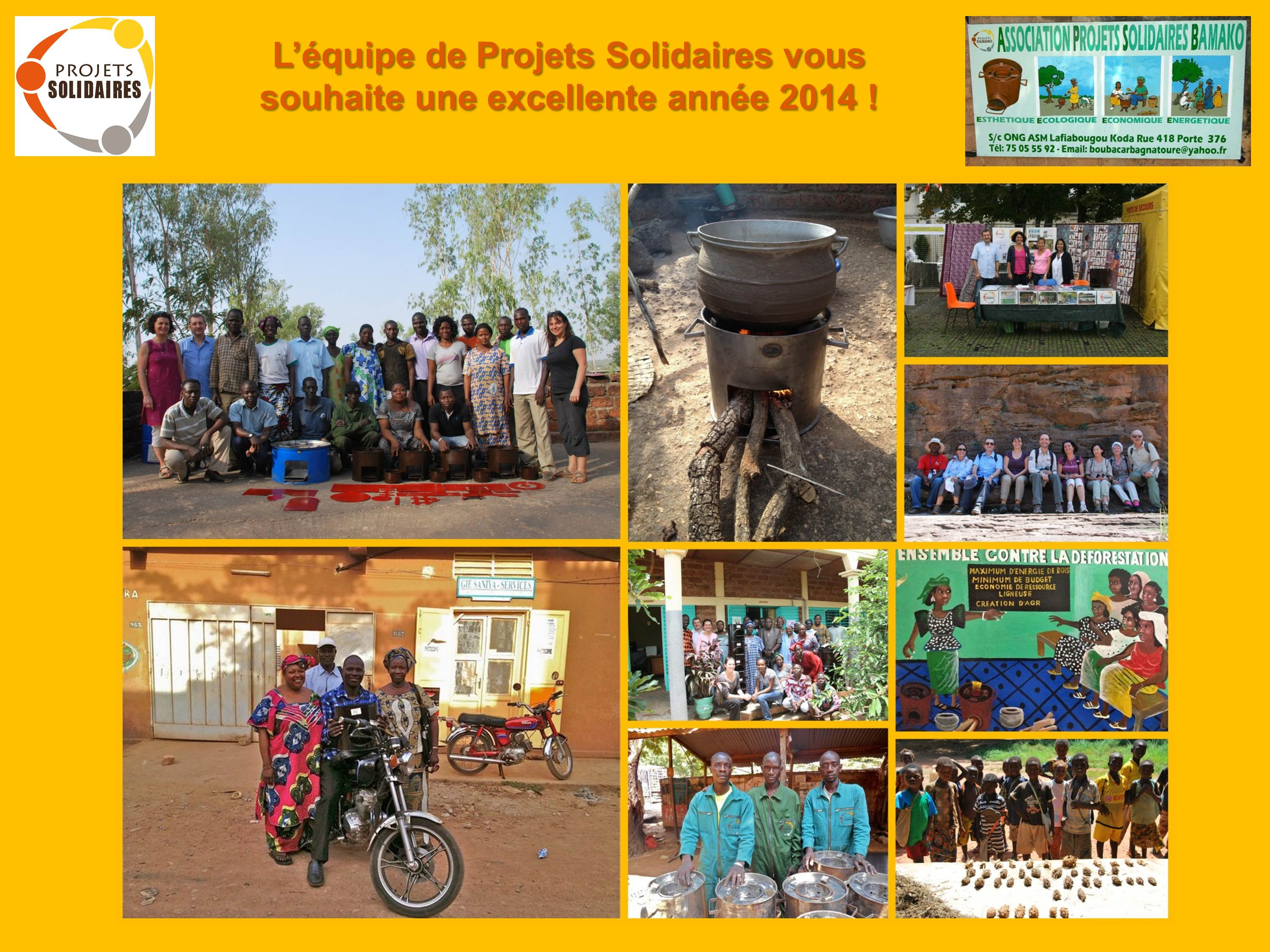 Voeux Projets Solidaires 2014