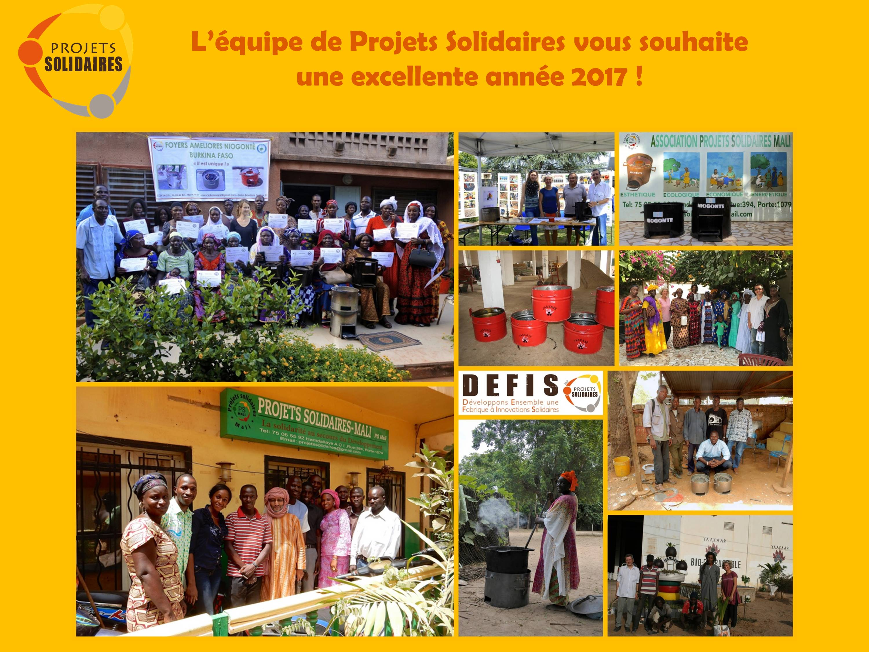 Voeux Projets Solidaires 2017